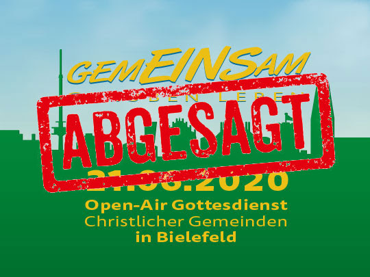 Open Air Gottesdienst 2020 im Ravensberger Park